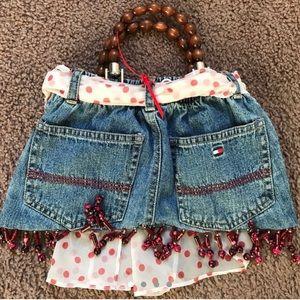 Custom Tommy jeans handbag / Mini purse